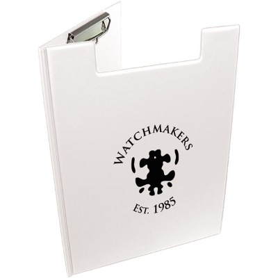 Image of A4 Folder Clipboard - White