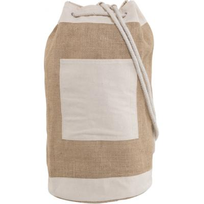 Image of Jute duffel bag