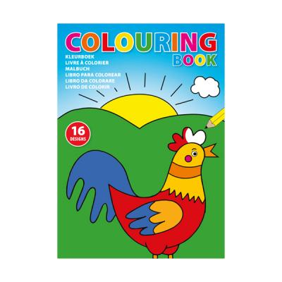 Image of A4 Colouring book with 16 diferent designs on 250gsm paper