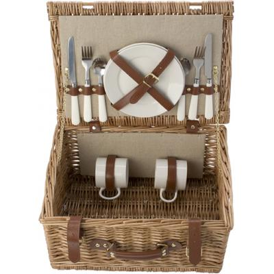 Image of Picnic basket for 2 people.