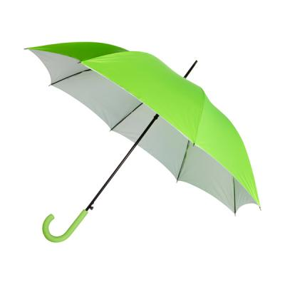 Image of Automatic neon nylon (190T) storm proof umbrella
