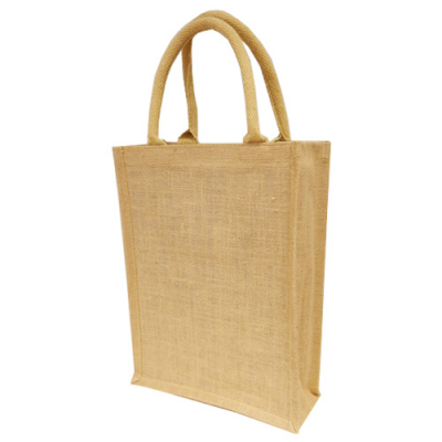 Image of Small A4 Natural Jute Bag