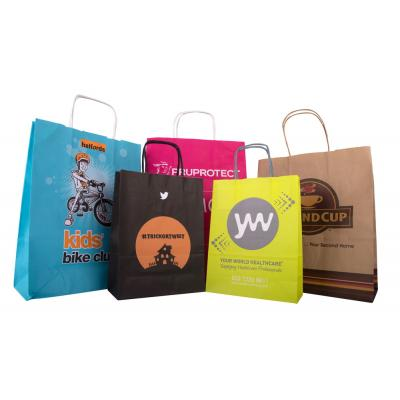 Image of Twisted Paper Handle Carrier Bag