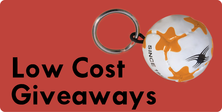 Low Cost Giveaways